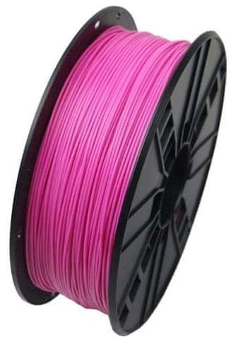 Gembird tlačová struna, PLA, 1,75 mm, 1kg, ružová (3DP-PLA1.75-01-P)