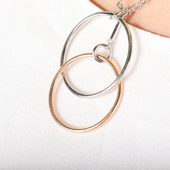 Morellato Močna jeklena ogrlica Cerchi SAKM12