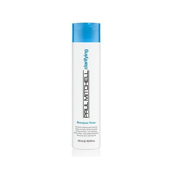 Paul Mitchell Čiščenje šampon za lase poudarila sonca in klora Clarifying (Shampoo Three Removes Chlorine And Impu