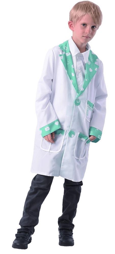 MaDe Šaty na karneval - doktor 120-130