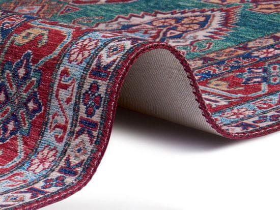 NOURISTAN Kusový koberec Asmar 104901 Green, Red