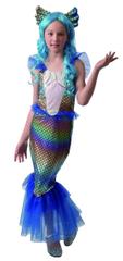 MaDe pustna obleka Mavrična sirena, 120-130