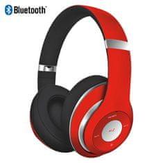 Platinet Freestyle FH0916R naglavne Bluetooth slušalke, rdeče