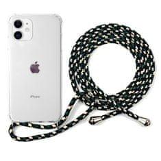 EPICO Nake String Case za iPhone 11, bela/črno bela 42410101000021