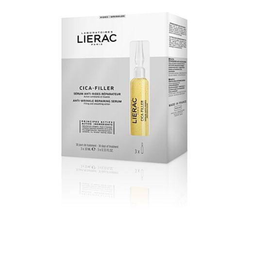 Lierac Cica Filler (Serum Anti - Rides Réparateur) ampula proti gubam 10 x 3 ml