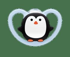 Nuk Dudlík Space, SI, V1, 0-6m BOX tučňák