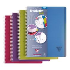 Clairefontaine Evolutiv Book blok, spiralni, crte, A4