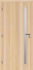 SOLODOOR Interiérové dveře SOLODOOR, prosklené, model SMART 20, šířka 700 mm, pravé provedení, povrch SOLO STRUKTUR, dekor STOCKHOLM, oblá boční hrana
