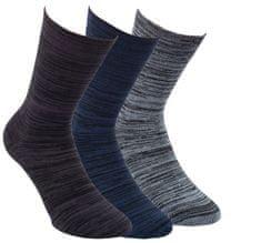 RS Zdravotní unisex melírované bambusové ponožky s bavlnou 43063, 35-38