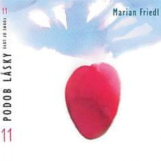 Friedl Marian: 11 podob lásky - CD