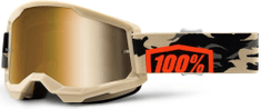 100% STRATA 2 100% - USA , brýle Kombat - True zlaté plexi 50421-253-10