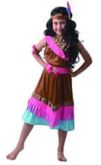 MaDe Šaty na karneval - indiánka 110 - 122