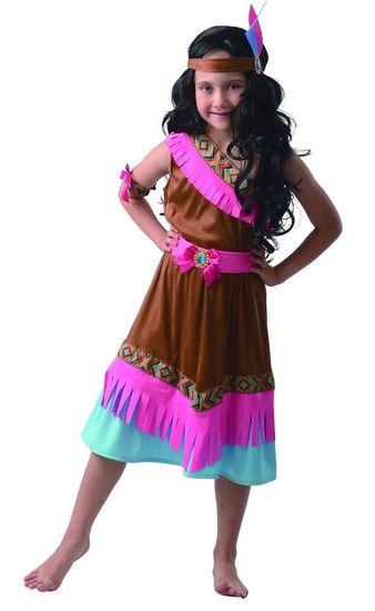 MaDe kostium karnawałowy - Indianka