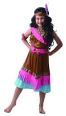 MaDe kostium karnawałowy - Indianka 120 - 130