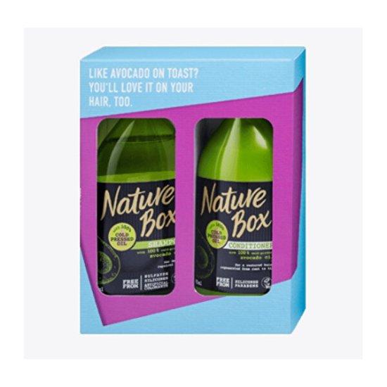 Nature Box Avocado Oil hajápoló ajándékcsomag