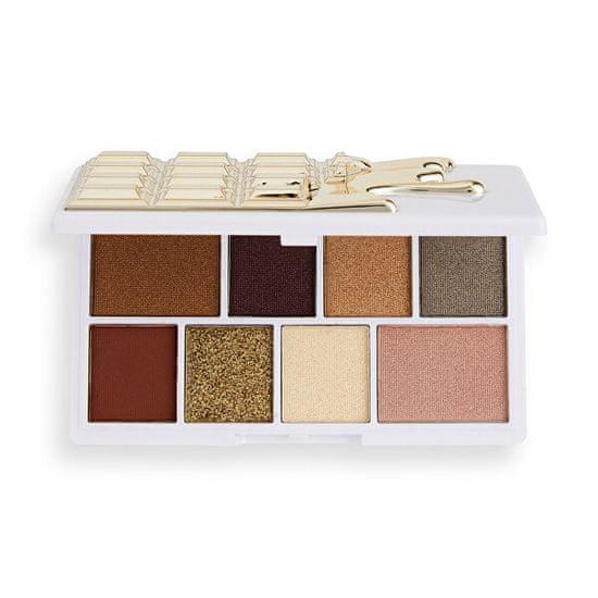 I Heart Revolution Paletka očních stínů White Gold Chocolate Mini (Chocolate Mini Palette) 10,2 g