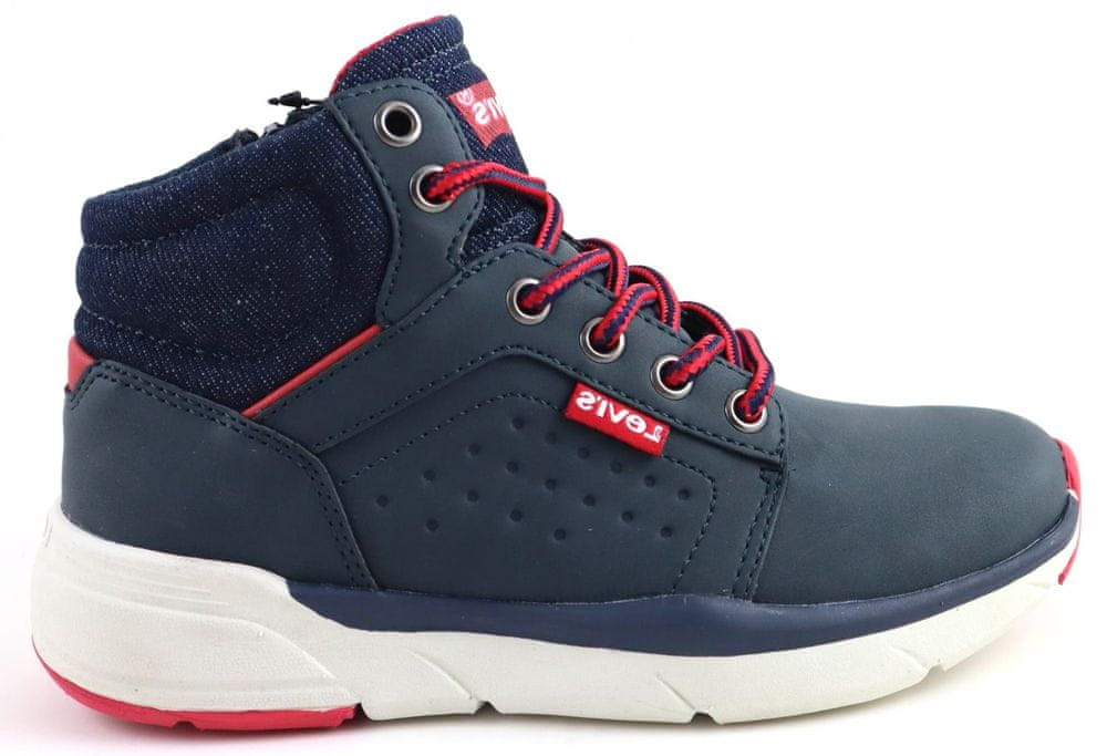 Levi's dětská kotníčková obuv NEW ASPEN tmavě modrá 33