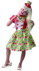 MaDe kostium karnawałowy - klaun dziewczynka 134 - 140