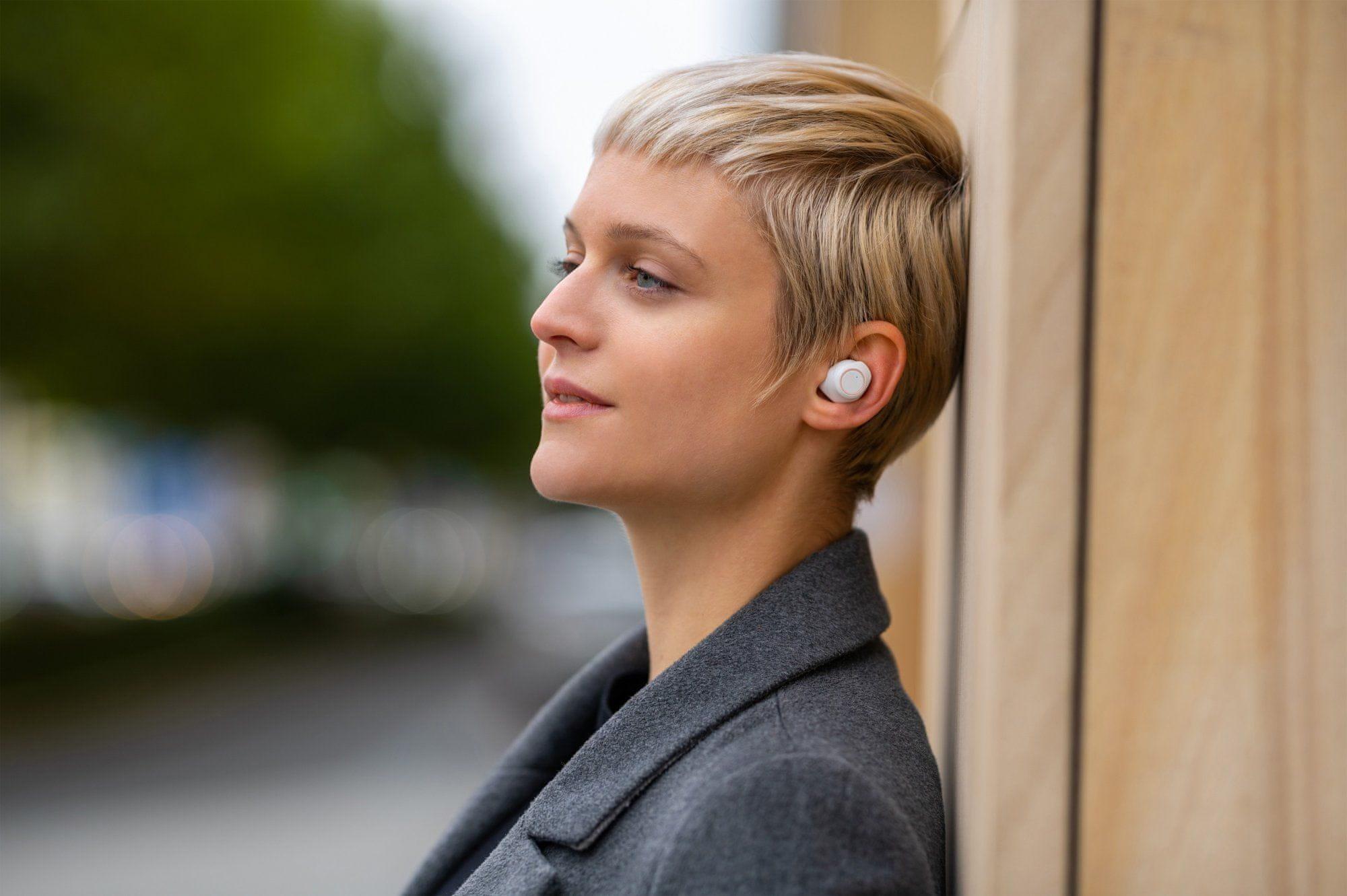 prenosné bezdrôtové slúchadlá niceboy hive drops fleur bluetooth 5.0 edr maxxbass technológie dotykové ovládanie autopárovanie ipx4 vodeodolná vyladený zvuk 6mm meniče 40mah batéria výdrž 3 h nabíjací box true wireless prevedenie
