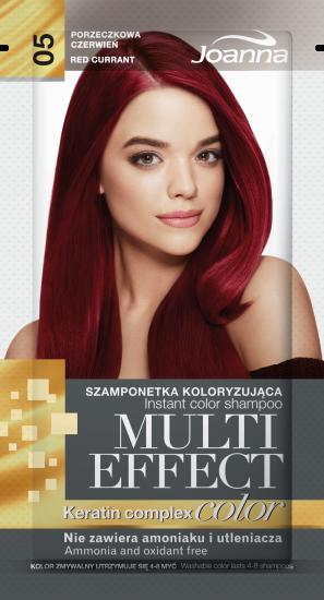 Joanna Tónovací šampon 05 Rybíz JOANNA