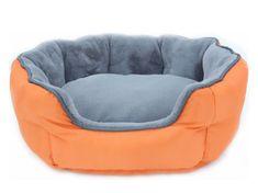 Thermoswitch Oboustranní pelíšek pro psa Thermoswitch SANTORINI oranžovo šedý