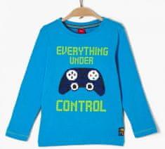 s.Oliver chlapecké tričko 404.10.008.12.130.2041855 116/122 modrá