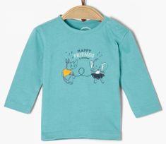 s.Oliver dětské tričko 50/56 modrá