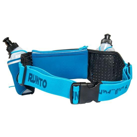 Runto Sportovní ledvinka s lahvičkami DUO-BLUE