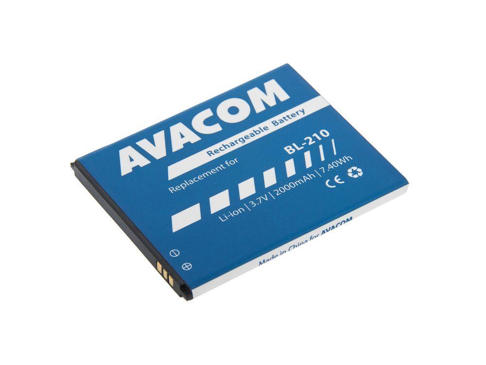 Avacom baterie do mobilu Lenovo A536 Li-Ion 3,7V 2000mAh (náhrada BL210) GSLE-BL210-2000