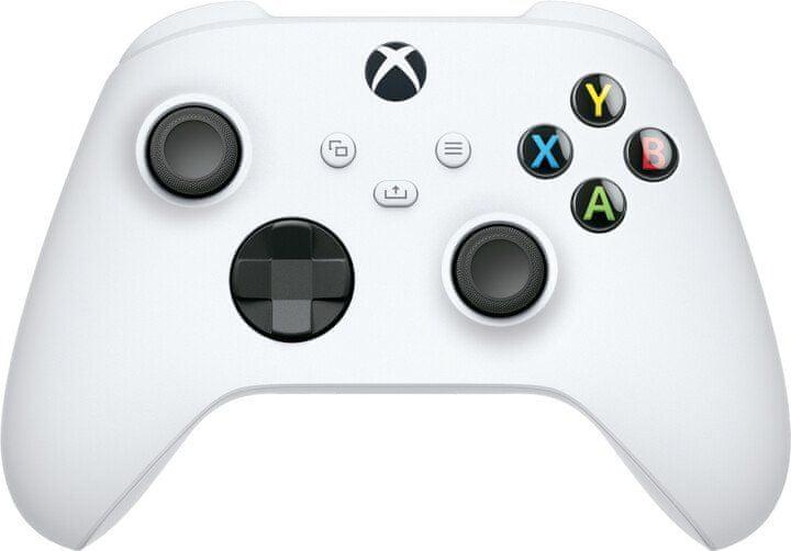 Microsoft Xbox Wireless Controller, bílá (QAS-00002)