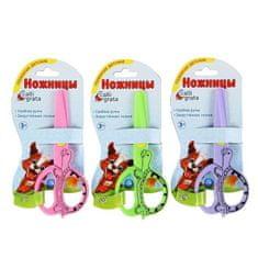 """Kraftika Nůžky pro děti, 12 cm, """"želva"""", plastové, mix"""
