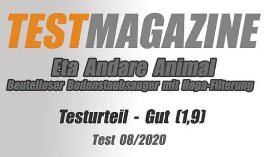 ETA bezsáčkový vysavač Andare Animal 149390020