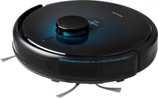SENCOR SRV 9250BK Robotický Vysavač 2v1 LASER WiFi + exkluzivní záruka 6 let na motor
