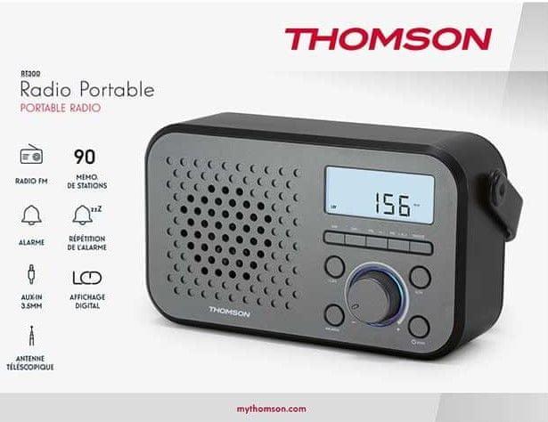 Thomson RT300, černá