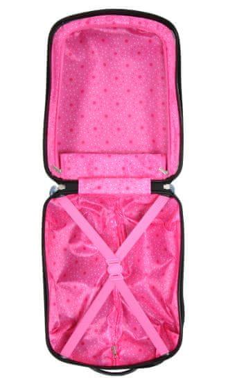Snowball Dětský kufr Snowball Tučňák 2W SX