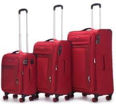 Swiss Sada kufrů Chamonix Red 3-set