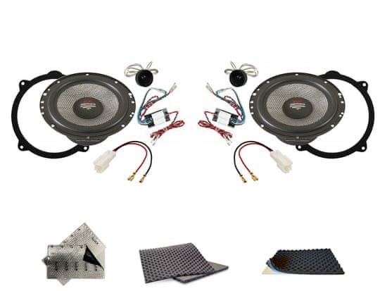 Audio-system SET - zadní reproduktory do Alfa Romeo Stelvio (2016-) - Audio System X