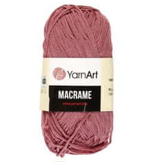 """YarnArt Příze """"macrame macrame"""" 100% polyester 130m / 90gr (141"""