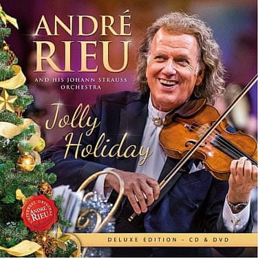 Rieu André: Jolly Holiday (Deluxe) (2 disky) - CD+DVD