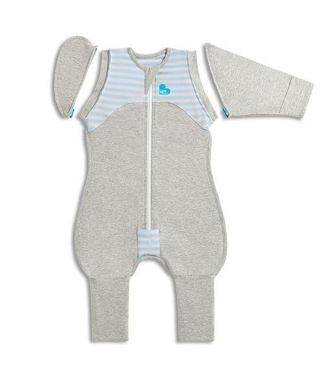 LOVE TO DREAM Transition Suit Prechodové Pyžamo veľkosť M, modrá, 2 Fáza, 3m+