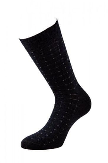 BENAMI Společenské ponožky Cyril Černá Bavlna 39-41