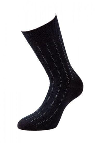 BENAMI Společenské ponožky Adam Černá Bavlna 39-41