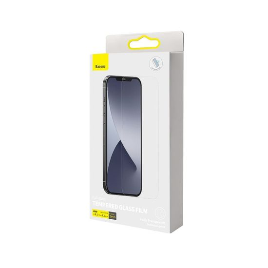 BASEUS Anti Blue 2x zaščitno steklo za iPhone 12 / 12 Pro