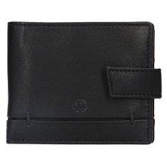 Lagen Skórzany portfel męski BLC-4139-118 Blk