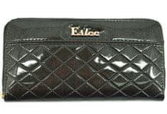 Arteddy Dámská / dívčí lakovaná peněženka pouzdrového typu Eslee - tmavě zelená