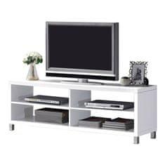 ATAN Televizní stolek TOFI NEW - bílý