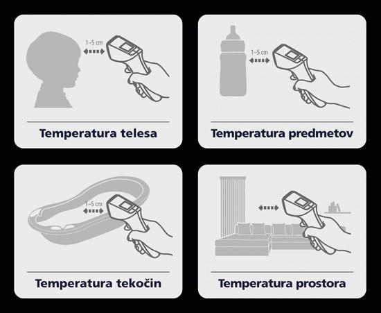 HeTaiDa HTD8816C brezkontaktni termometer