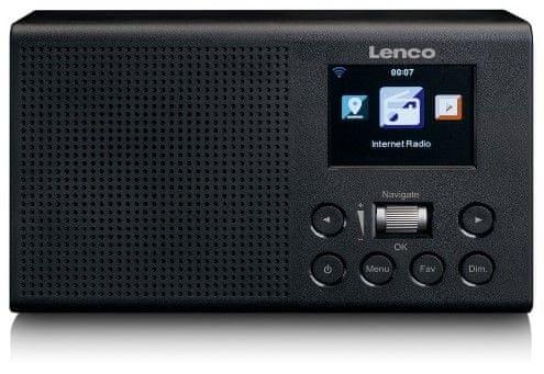 LENCO DIR-60, fekete
