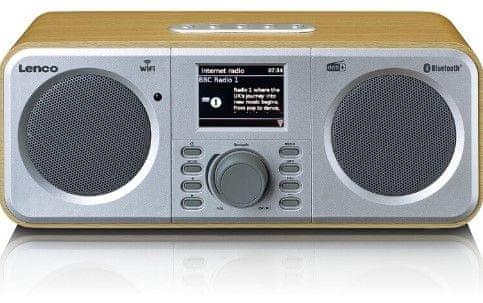 LENCO radio internetowe DIR-140 Wood