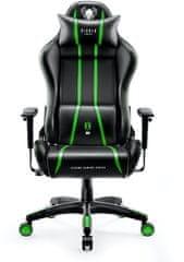Diablo Chairs X-One 2.0, čierna/zelená (5902560337082)